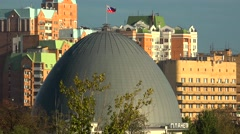 Dome of the Moscow planetarium. Stock Footage
