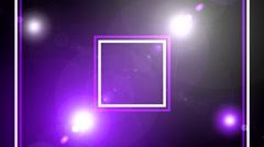 Flash light wall art bacground 3 - stock footage