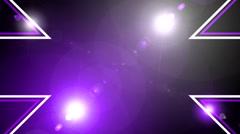 Flash light wall art bacground 9 - stock footage