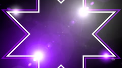 Flash light wall art bacground 12 - stock footage