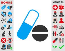 Stock Illustration of Medication Icon