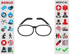Spectacles Icon - stock illustration
