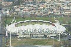 Melbourne Rectangular Stadium, AAMI Park - stock photo