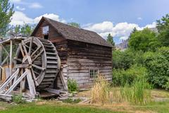 Old watermill Stock Photos