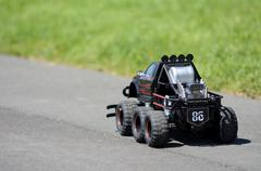 4x4 Radio-controlled car Stock Photos