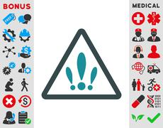 Multiple Problems Icon - stock illustration