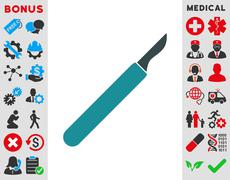Scalpel Icon Stock Illustration