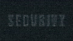 Backgound code with text dynamic security - stock footage