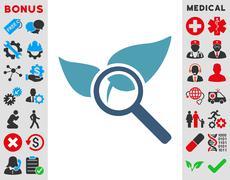 Explore Natural Drugs Icon Stock Illustration