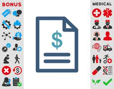 Stock Illustration of Invoice Icon