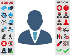 Manager Icon - stock illustration