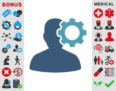 Migraine Icon - stock illustration