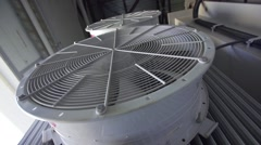 Industrial air conditioning conditioner Stock Footage