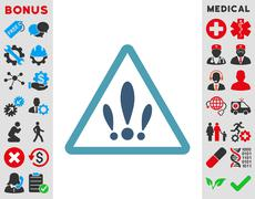 Multiple Problems Icon - stock illustration