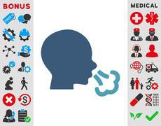 Stock Illustration of Sneezing Icon