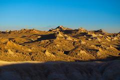 Rocky landscape of Atacama Desert Stock Photos