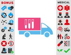 Analysis Delivery Icon Stock Illustration