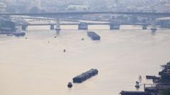 Chao Phraya River - stock footage