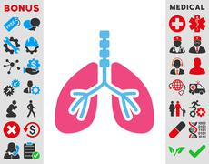 Breathe System Icon Stock Illustration