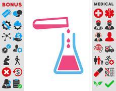 Stock Illustration of Liquid Transfusion Icon