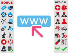 Select Website Icon Stock Illustration