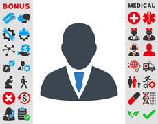 Manager Icon Stock Illustration