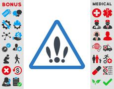 Multiple Problems Icon Stock Illustration