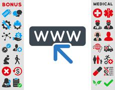 Stock Illustration of Select Website Icon
