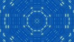 blue abstract background, rectangle, loop - stock footage