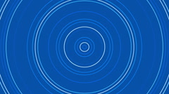 Blue abstract background, moving circle, loop Stock Footage