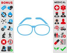 Spectacles Icon Stock Illustration