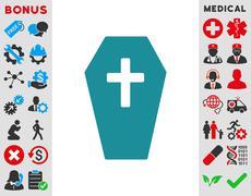 Coffin Icon Stock Illustration