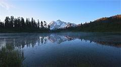 Mount Shuksan, Washington Stock Footage