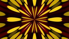 dark abstract background, kaleidoscope particles, loop - stock footage