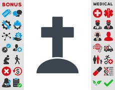 Stock Illustration of Grave Icon