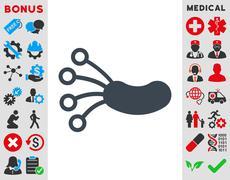 Infection Microbe Icon - stock illustration