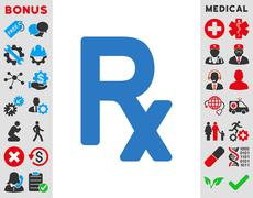 Stock Illustration of Prescription Symbol Icon