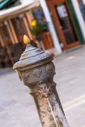 Traditional drinking water fountain in Venice, Italy Kuvituskuvat
