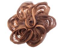 handmade hairpin - stock photo