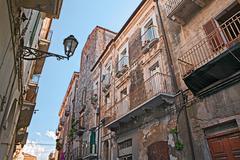 old town of Ortona, Abruzzo , Italy - stock photo