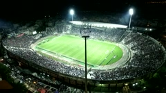 Aerial flying by soot of the Toumba Stadium Arkistovideo
