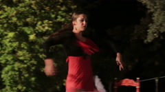 Spain - flamenco dance Stock Footage