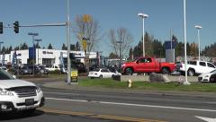 Entrance To Olympia Auto Mall Stock Footage