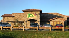 Olive Garden, Italian family restaurant Stock Footage