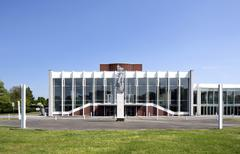 Stock Photo of Heinz Hilpert Theatre Urban Theater Lunen Ruhr district North Rhine Westphalia