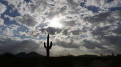 Stock Video Footage of Desert Landscape Fast Time-lapse