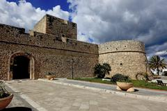 Stock Photo of Castle of Manfredonia National Archaeological Museum Apulia Foggia Italy Europe