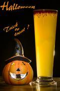 halloween trick or treat - stock photo