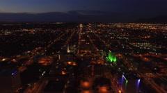 Aerial New Mexico Albuquerque Stock Footage