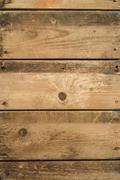 Old wood panel background - stock photo
